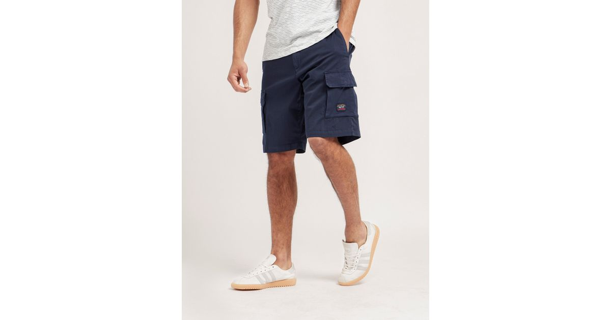 833a31f7f8 Paul & Shark Cargo Shorts in Blue for Men - Lyst