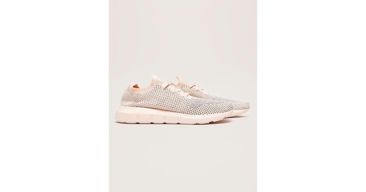c4ad82db8 adidas Originals Swift Run Primeknit in Pink - Lyst