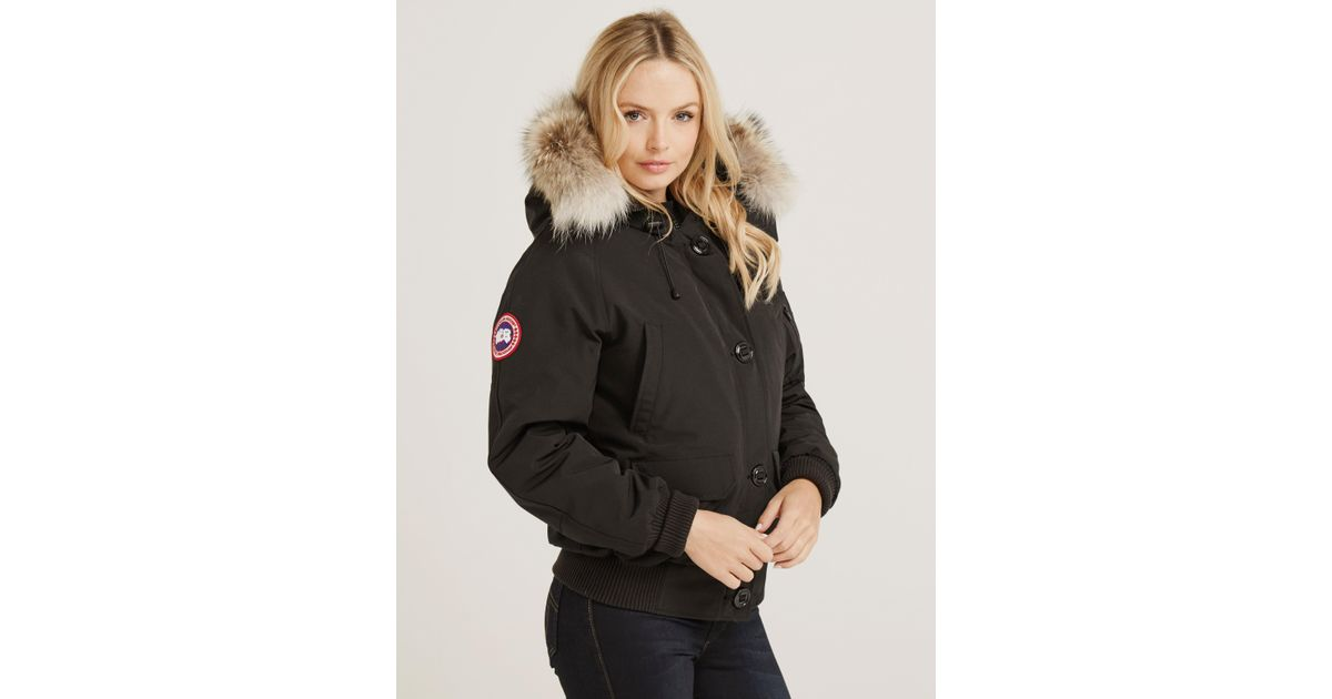 21127fddc50 Canada Goose Chilliwack Bomber in Black - Lyst