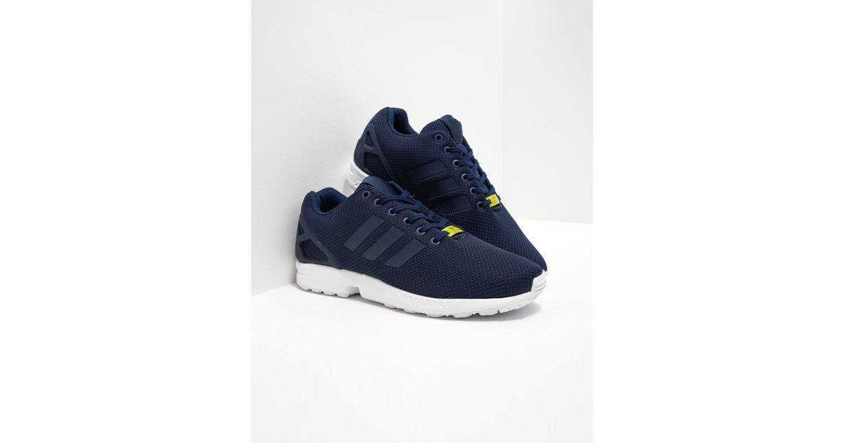 new arrival a6baf 18ea5 Adidas Originals - Blue Mens Zx Flux Navy/white for Men - Lyst
