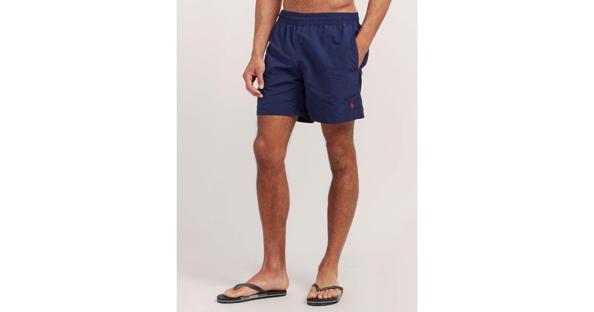 4486d431e4af Polo Ralph Lauren Mens Hawaiian Shorts Blue in Blue for Men - Lyst