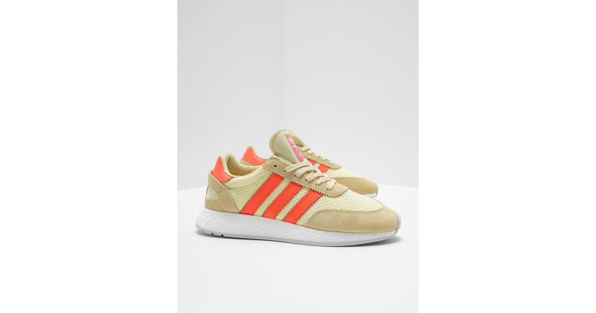 promo code a44d8 4a946 adidas Originals I-5923 Leather Sneakers In Yellow D96604 in Yellow for Men  - Save 23% - Lyst