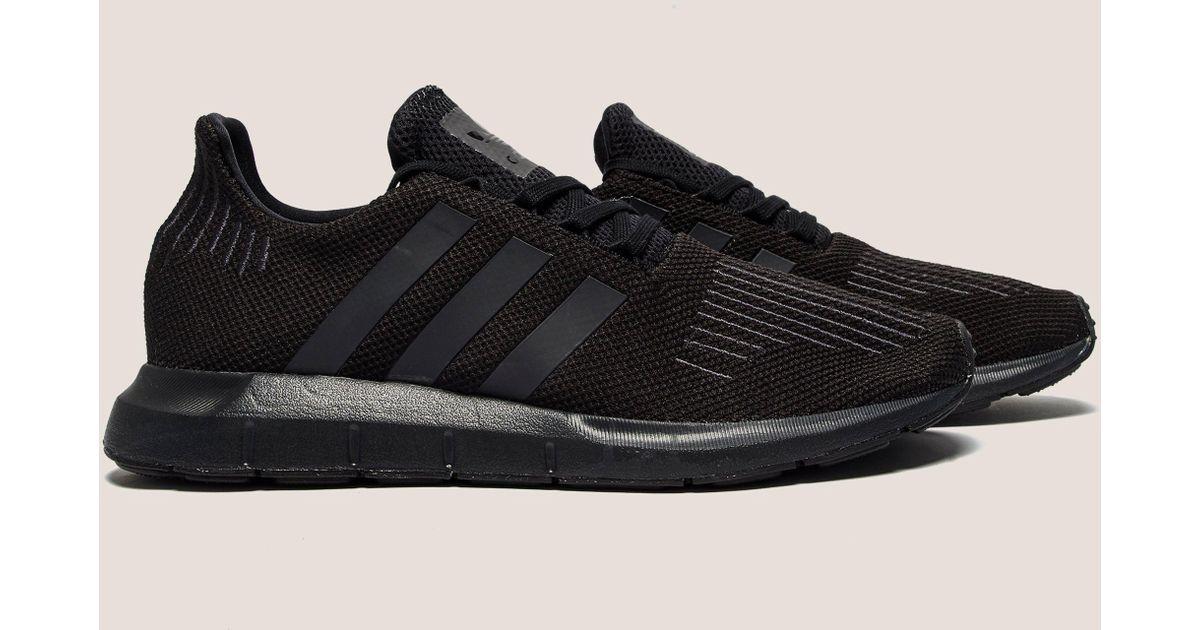 04da8ba8eea703 Lyst - adidas Originals Mens Swift Run Black in Black for Men