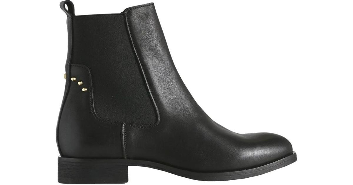 52889b85c15 Shoe The Bear Marla Womens Black Leather Boots in Black - Save 20% - Lyst