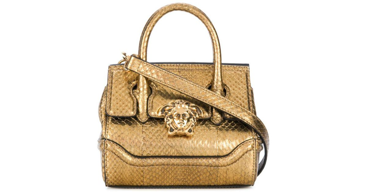 071e89b7669d Lyst - Versace Medusa Empire Crossbody Bag