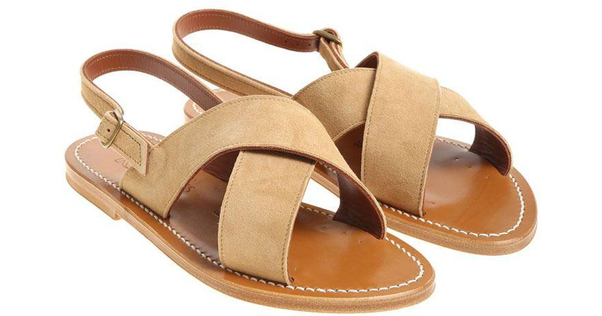Sand colored Osorno sandals K.Jacques eh3tAl2i
