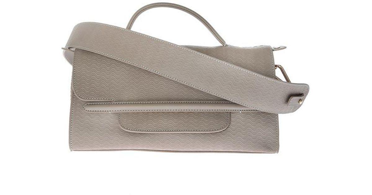 Zanellato Grey Nina S bag - Blandine Cashmere Line SmqKc