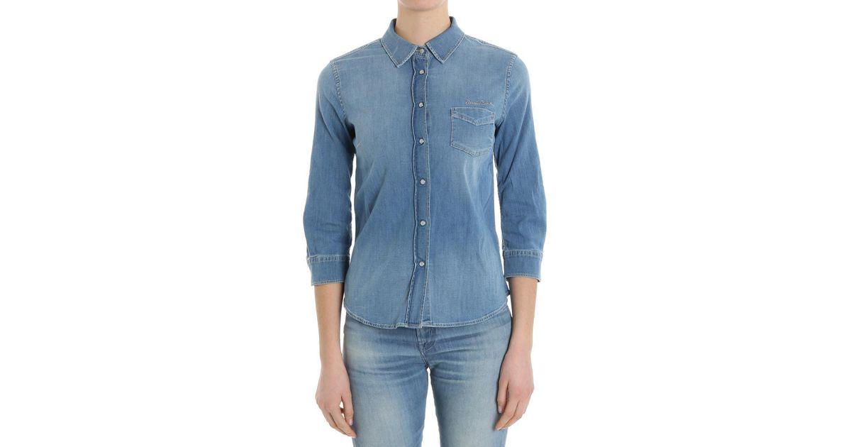 Light blue denim shirt Jacob Cohen In China For Sale g8KyDRD