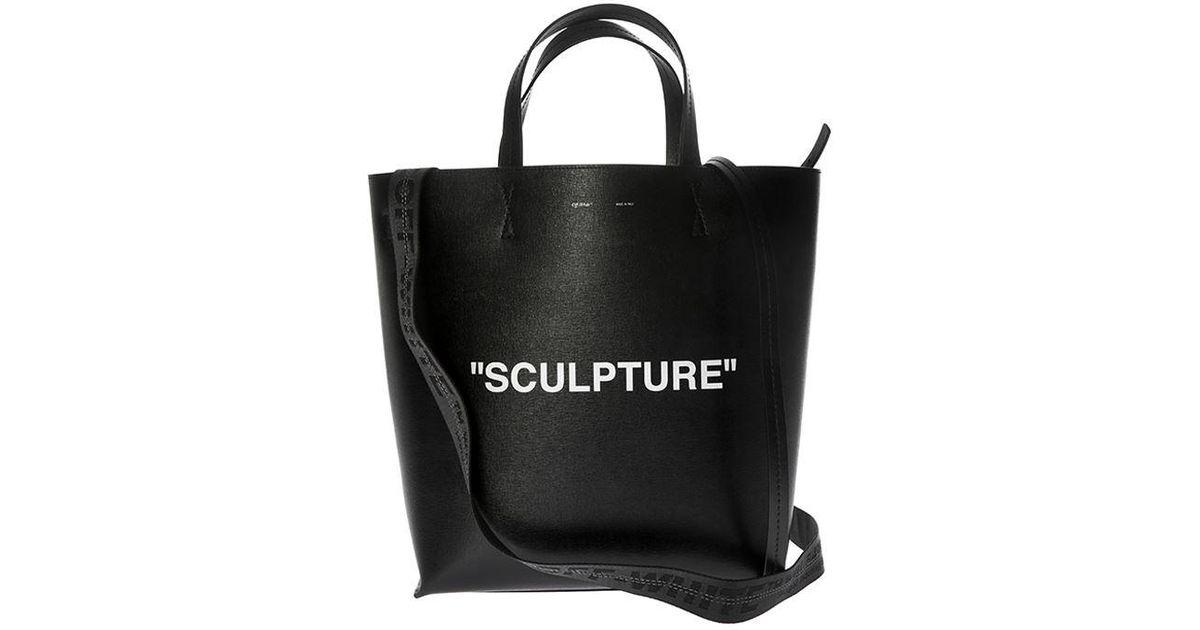 5523899131da Lyst - Off-White c o Virgil Abloh Black Sculpture Bag in Black