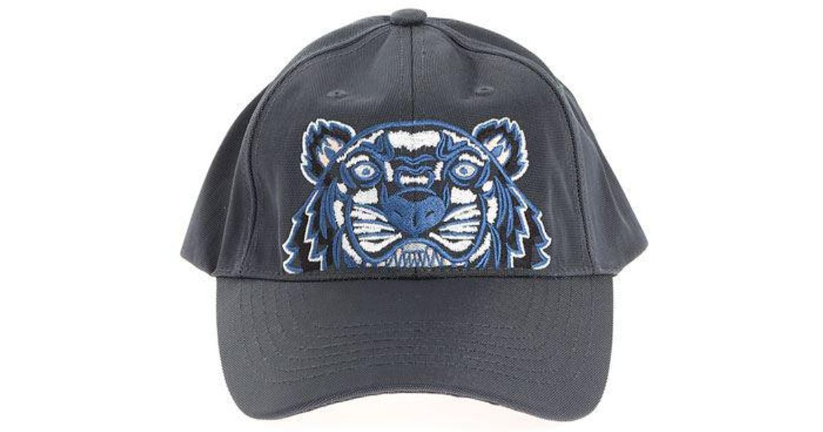 Lyst - Kenzo Tiger Cap in Blue for Men b201f73b3eda
