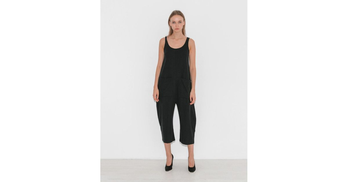 eb3a05600b9b Ilana Kohn Exclusive Gary Jumpsuit in Black - Lyst