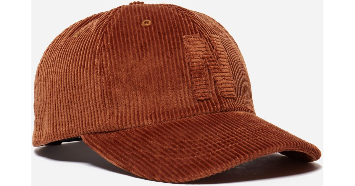 e1808adbc4e Lyst - Norse Projects 6 Panel Corduroy Cap in Brown for Men