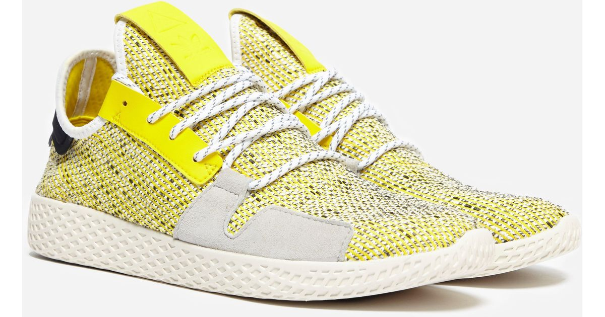 8aa3470a7 adidas Originals X Pharrell Williams Solar Hu Tennis V2  afro Pack  in  Yellow for Men - Lyst