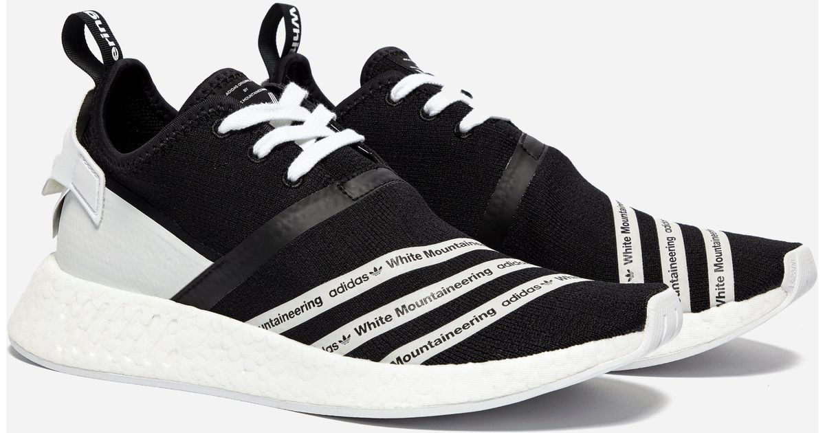 a4fa9a10c7945 Lyst - adidas Originals X White Mountaineering Nmd R2 Pk in Black for Men