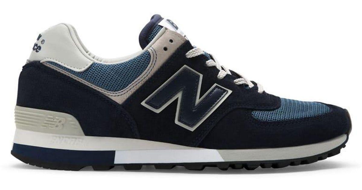best loved 1d9cb 46998 New Balance - Blue 576 Navy Grey for Men - Lyst