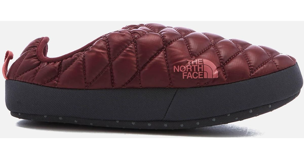 sc 1 st  Lyst & The north face Thermoball® Tent Mule Iv Slippers in Red for Men | Lyst