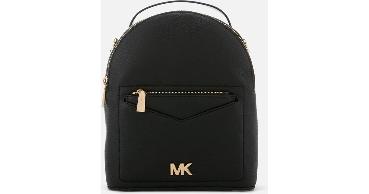 9ba14c5f3e10 MICHAEL Michael Kors Jessa Small Convertible Backpack in Black - Save 32% -  Lyst