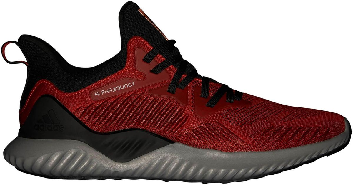 4583ff8506cbaf Lyst - adidas Alphabounce 2 Training Shoes in Red for Men