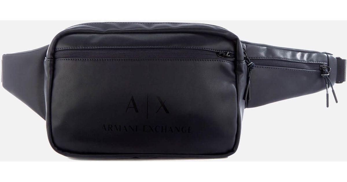 2ffb401b8e17 Armani exchange slingbag in blue for men lyst jpg 1200x630 Armani exchange  satchel