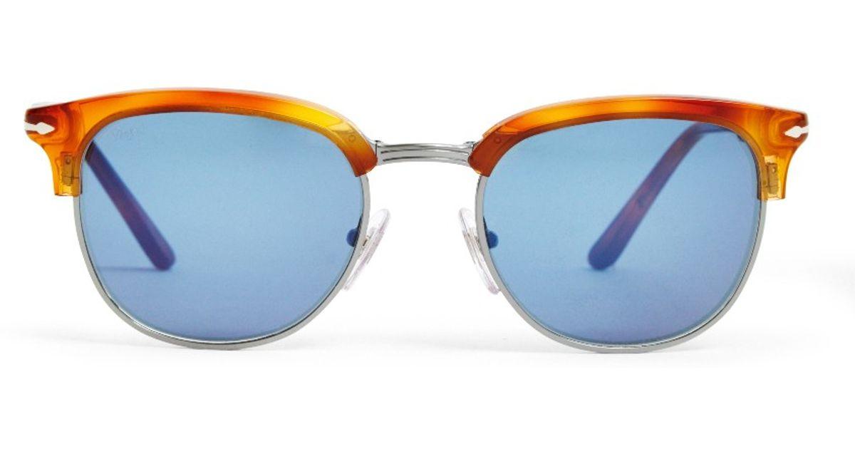 c344d1c7c4 Persol Suprema Icon Sunglasses Light Brown in Brown for Men - Lyst