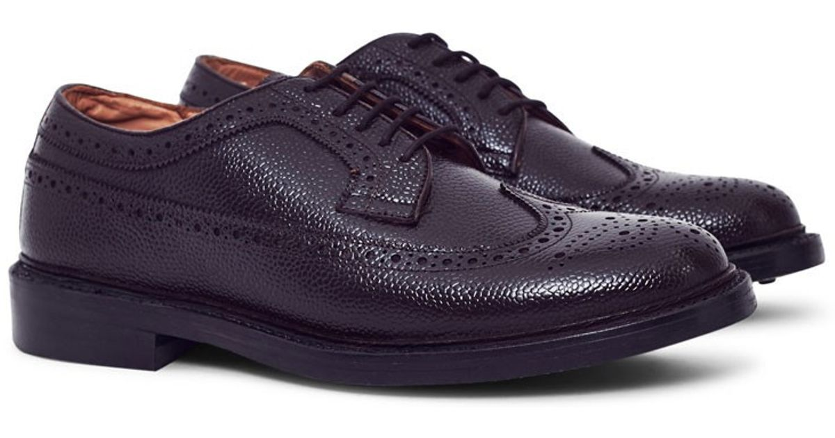 8f71b4be91f Lyst - G.H.BASS Monogram Triple Welted Longwing Grain Brogue Brown in Brown  for Men