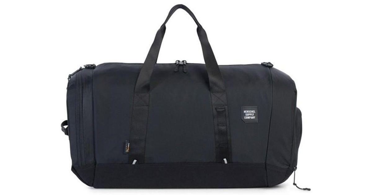 8ff3fff2638e Lyst - Herschel Supply Co. Gorge Duffle Bag Black in Black for Men