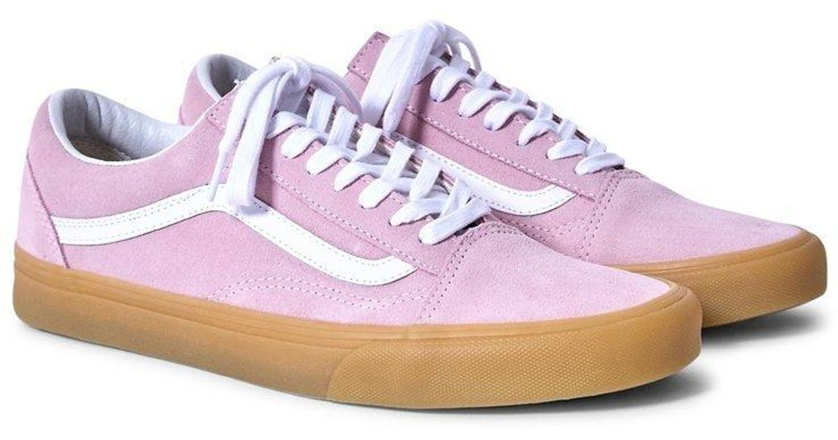 6620a80045 Lyst - Vans Old Skool Trainers Gum Sole Pink in Pink for Men