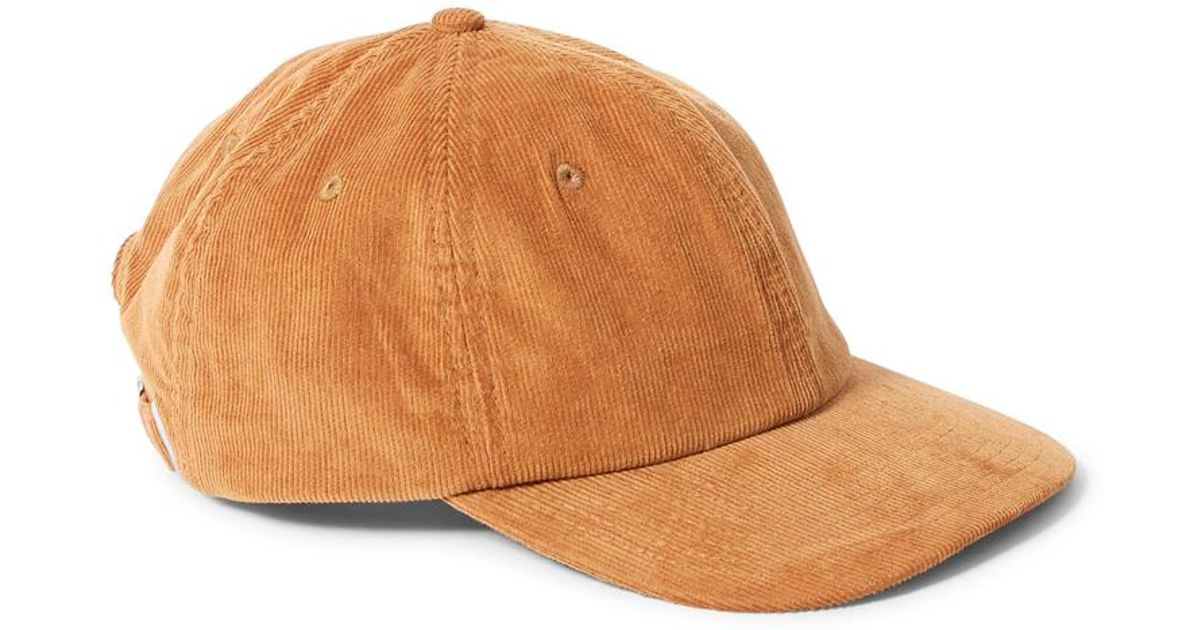 7182356c430 Lyst - The Idle Man Corduroy Cap Tan in Brown for Men - Save 25%