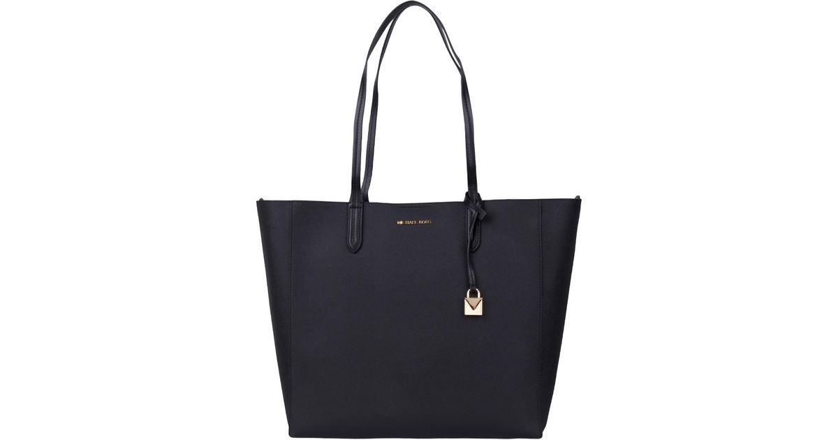 3564728d12e4 Michael Kors Penny Large Convertible Tote in Black - Lyst