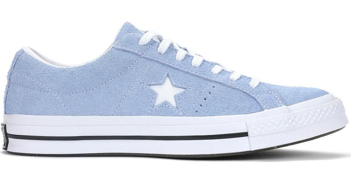 b27315d16582 Lyst - Converse One Star Ox in Blue for Men
