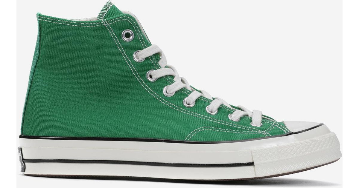 b3fbc902b58e0f Lyst - Converse Chuck Taylor All Star  70 Hi in Green