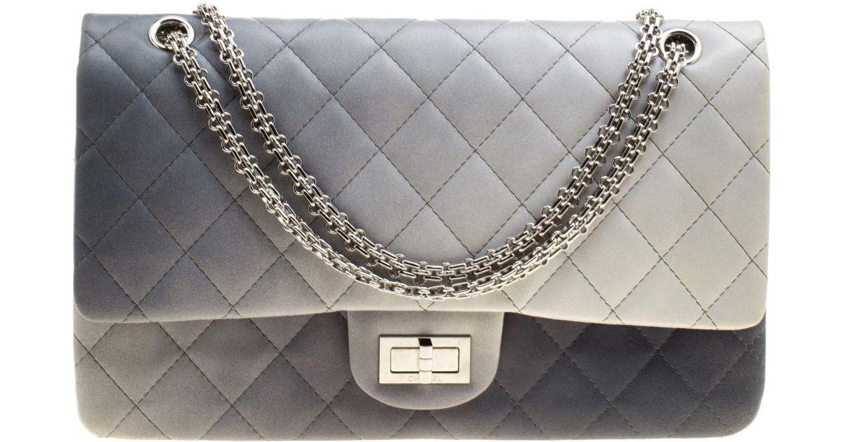 25af669cb4be74 Chanel 2.55 Multicolour Leather Handbag - Lyst