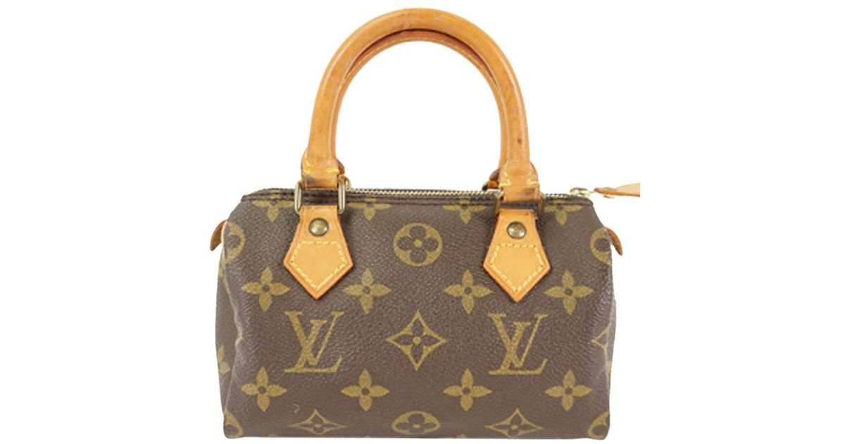 79b83f7deb0 Louis Vuitton - Brown Monogram Canvas Mini Hl Sac Bag - Lyst