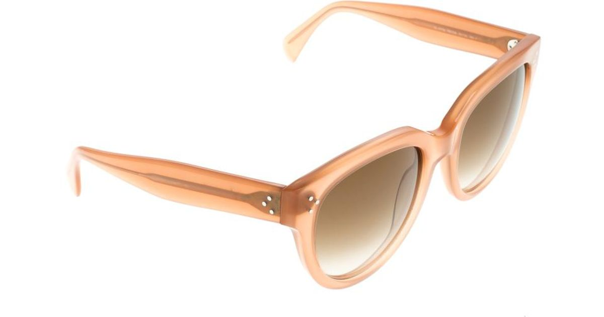 06d008e68a328 Céline Audrey Cl 41755 Cat Eye Sunglasses in Pink - Lyst
