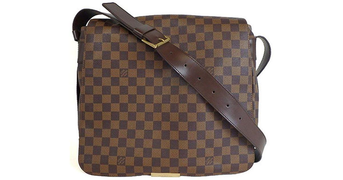 91774666d0aa Lyst - Louis Vuitton Damier Ebene Canvas Bastille Messenger Bag in Brown  for Men