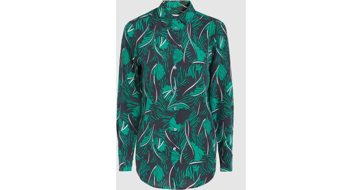 newest 5b37c cb5cf equipment-Green-Essential-Printed-Washed-silk-Shirt.jpeg