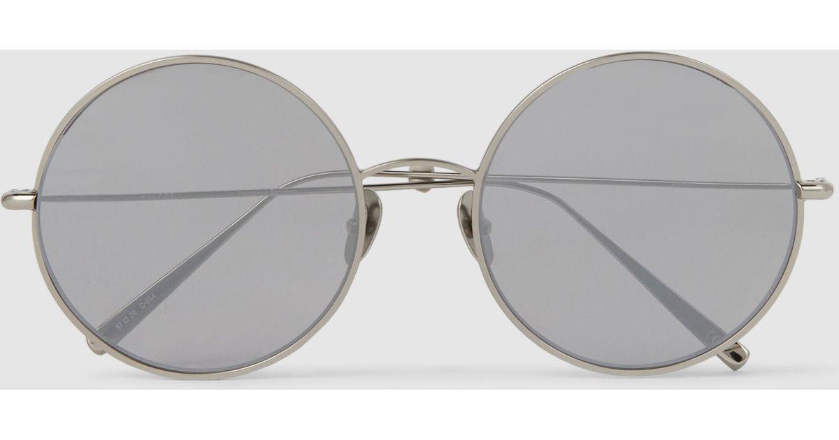 Lisbon Round-Frame Sunglasses Kaleos EOgVn