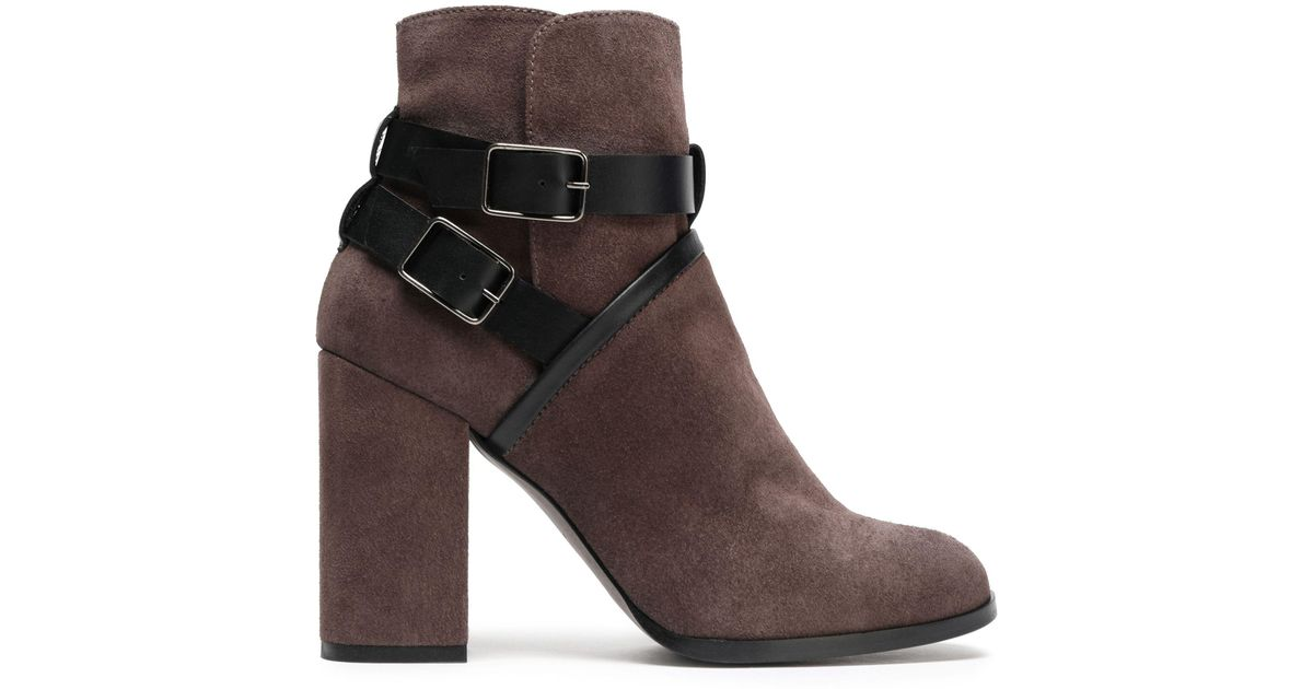 nicekicks for sale Castañer Suede Lace-Up Ankle Boots buy cheap best sale clearance low price VrgPp
