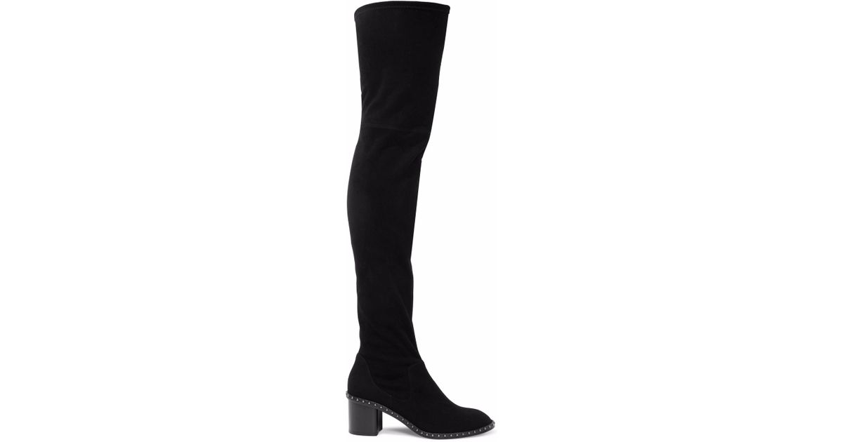 15a82664780 Lyst - Rag   Bone Woman Rina Suede Over-the-knee Boots Black in Black