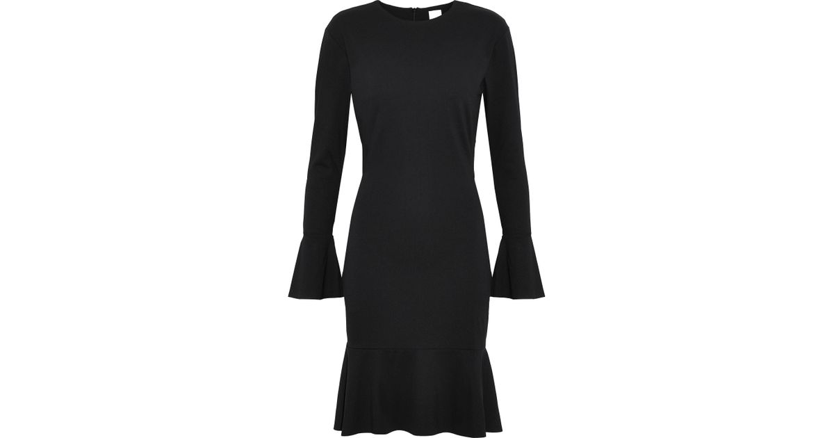 6c3c620e037965 Lyst - Iris   Ink Renalda Stretch-ponte Dress in Black - Save 57%