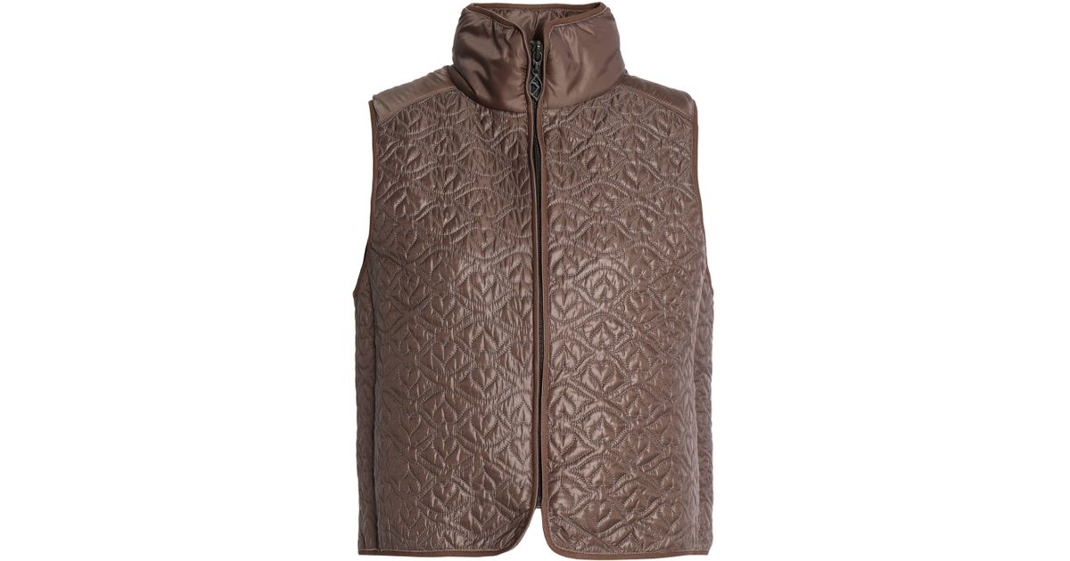 See By Chloé Woman Paneled Quilted Shell Vest Taupe Size L See By Chloé Buy Cheap Footlocker Finishline Sale Release Dates Buy Cheap Price Clearance Pick A Best 6rGXXHIJ