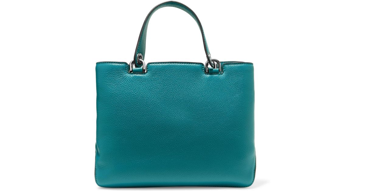 799af22962e3 MICHAEL Michael Kors Leather Tote Royal Blue in Blue - Lyst