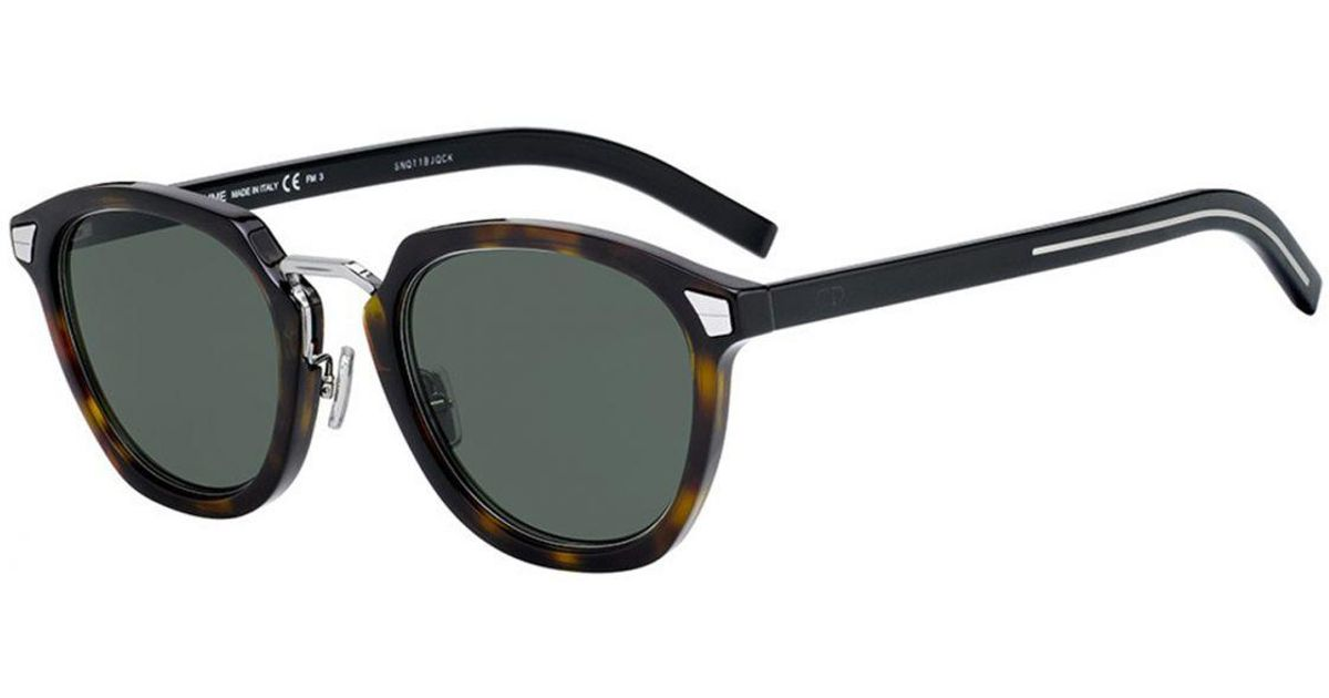 bf5e7a90b3f Dior Homme Diortailoring Brown Tortoiseshell Frames With Black Lenses  086 qt in Brown for Men - Lyst