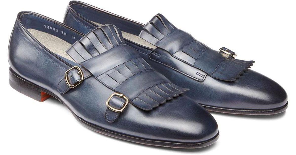 Santoni buckled loafers best sale online sDvYe6