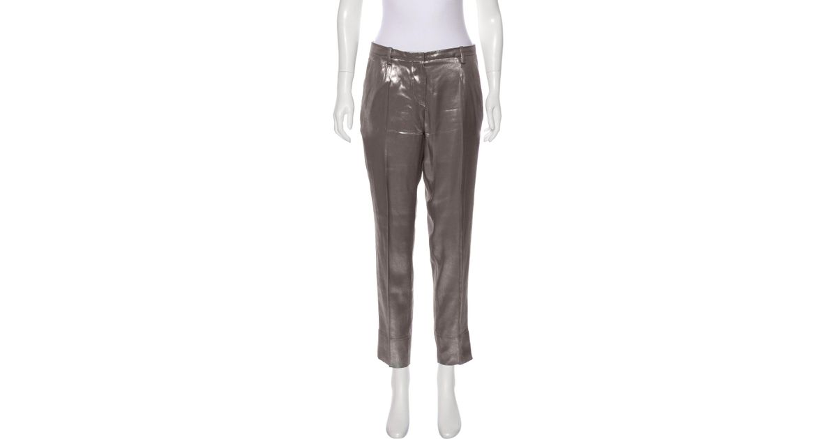 Brunello Cucinelli Mid-Rise Skinny Pants w/ Tags Cheap Sale Very Cheap Eastbay Discount New Arrival LZKmeV