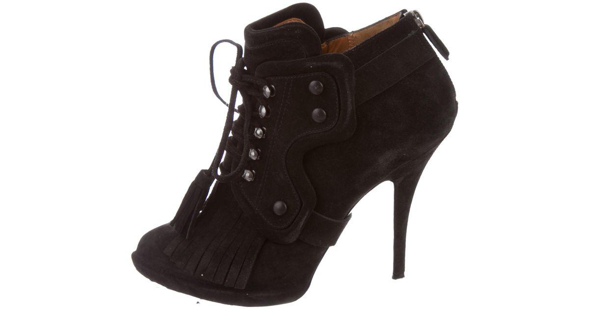 visa payment for sale sale sale online Givenchy Fringe-Trimmed Ankle Boots footlocker sale online mLh3G60