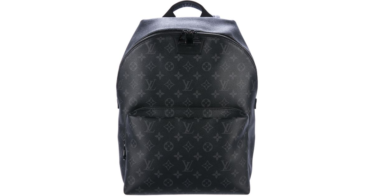 187698123d44 ... lyst louis vuitton 2017 monogram eclipse apollo backpack black in ...
