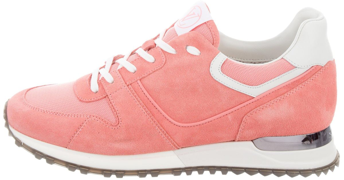 Pink Louis Vuitton Sneakers - All About Pink 2019 c46f7ad7030