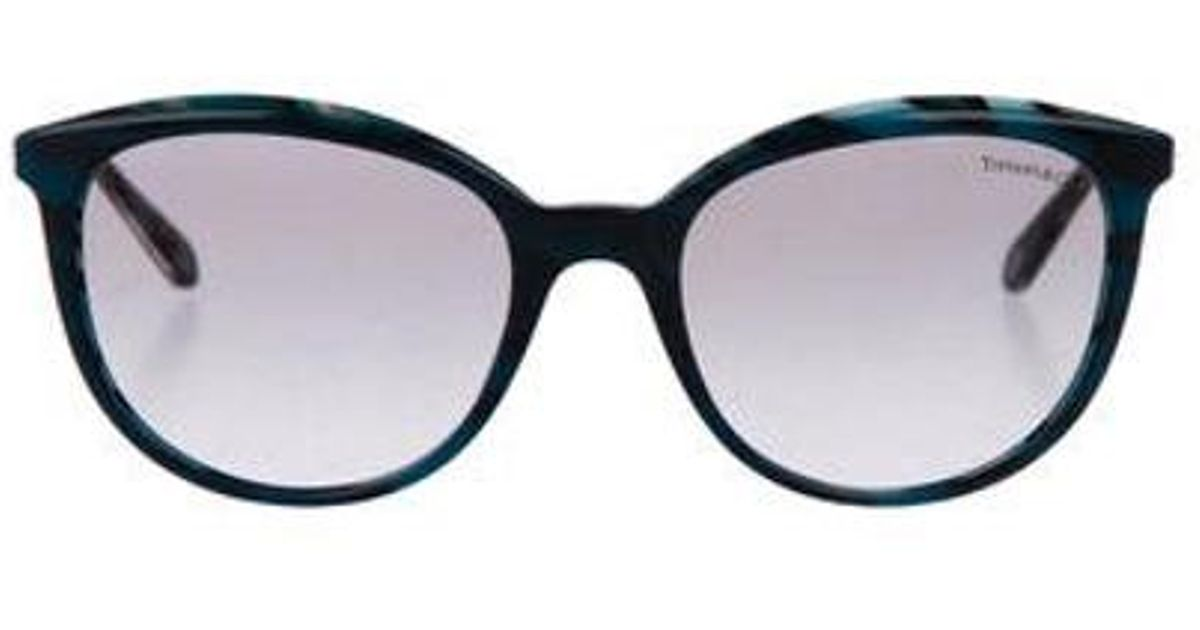 ec0d34af76ad Lyst - Tiffany   Co Gradient Logo Sunglasses in Blue