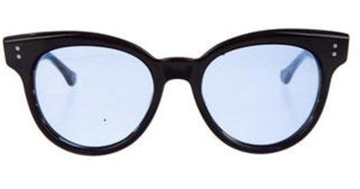 e91020b151e9 Lyst - Dita Sunspot Gradient Sunglasses Black in Metallic
